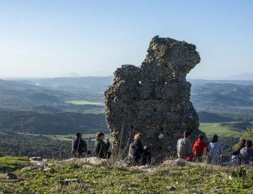 Senderismo por la ciudad romana de Lacipo